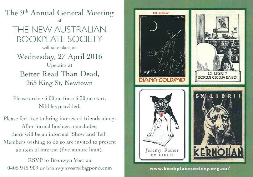 9th Annual General Meeting invitation